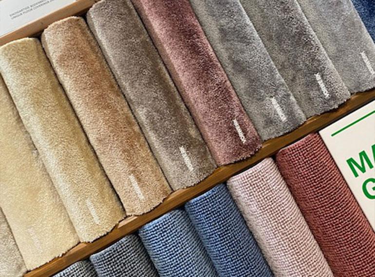 Heinks Ausstellung Muster Textilien