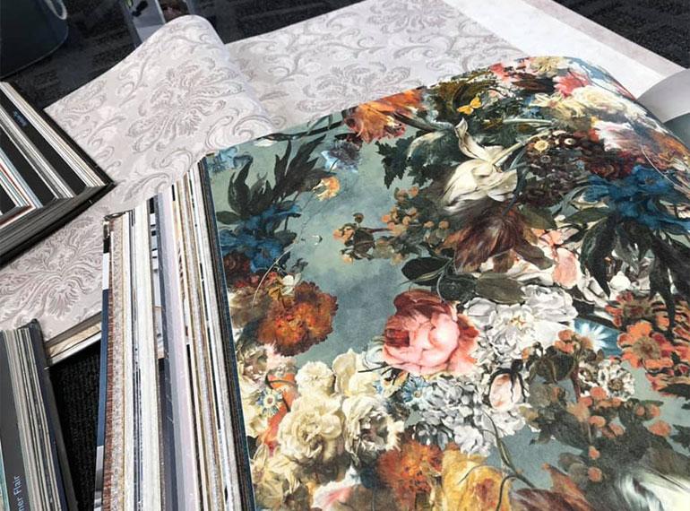 Ausstellung Tapete Muster